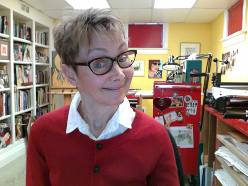 Sue Todd: Bookworm and Illustrator